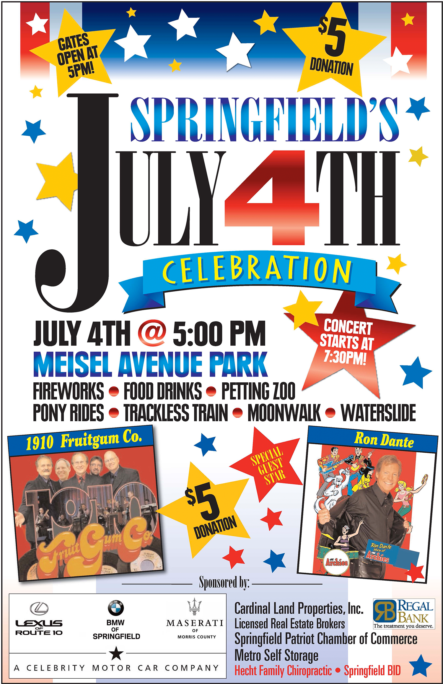 Annual Springfield 4th of July Celebration